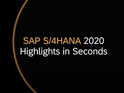SAP S/4HANA 2020